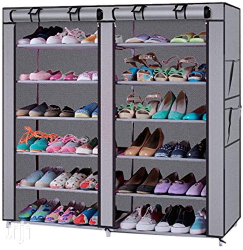 12 Tier Portable Shoe Rack