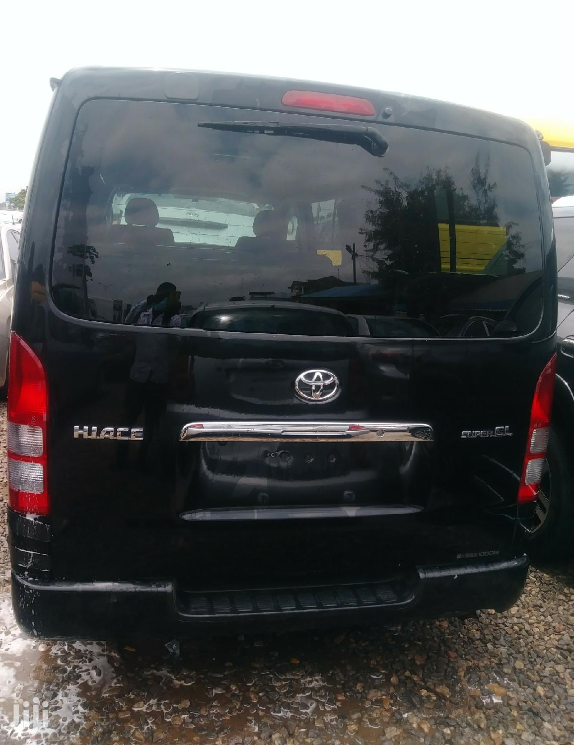 Toyota Hiace 2014 Black   Buses & Microbuses for sale in Achimota, Greater Accra, Ghana