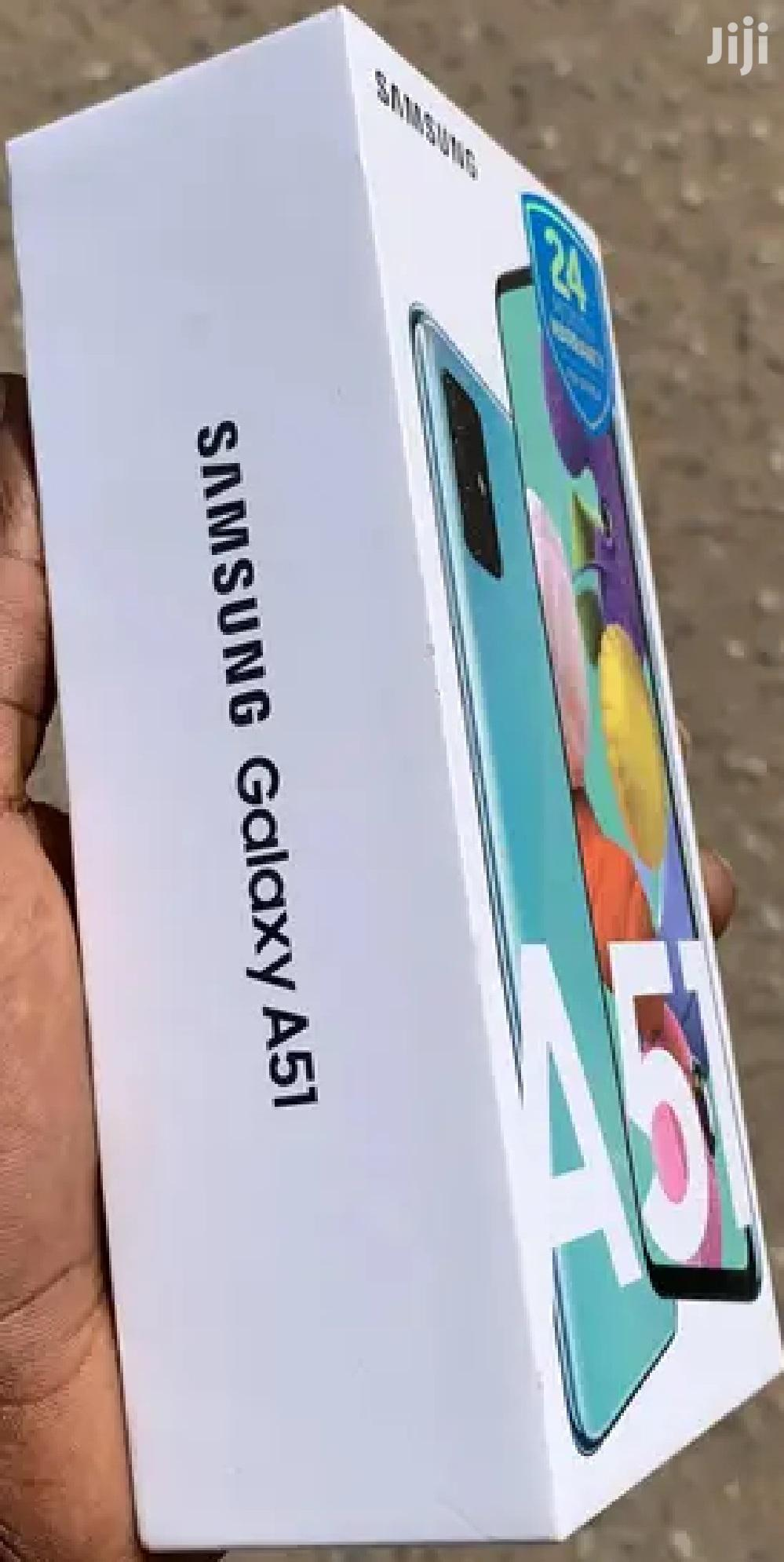 New Samsung Galaxy A51 128 GB Blue | Mobile Phones for sale in Roman Ridge, Greater Accra, Ghana