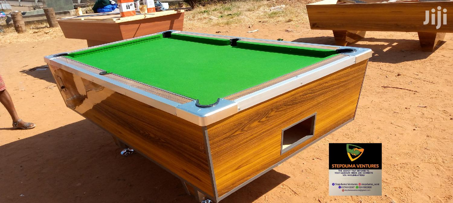 Coins Operating Snooker Boards