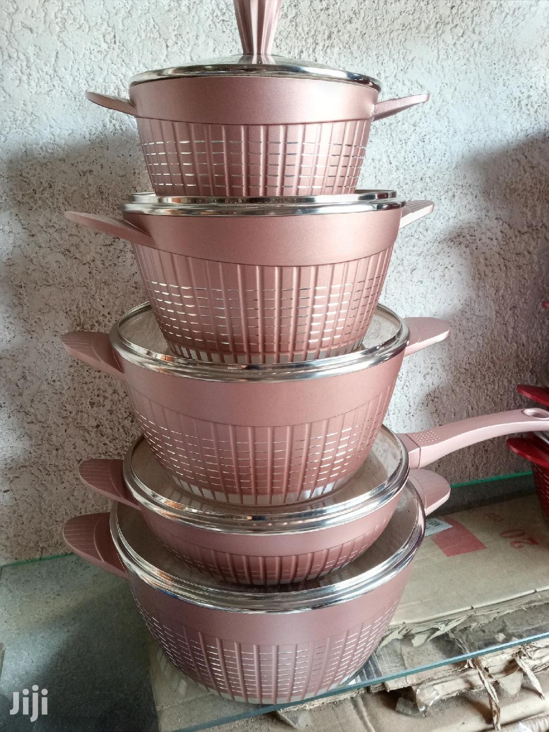 10 Pcs Non Stick Cooking Ware | Kitchen & Dining for sale in Dansoman, Greater Accra, Ghana