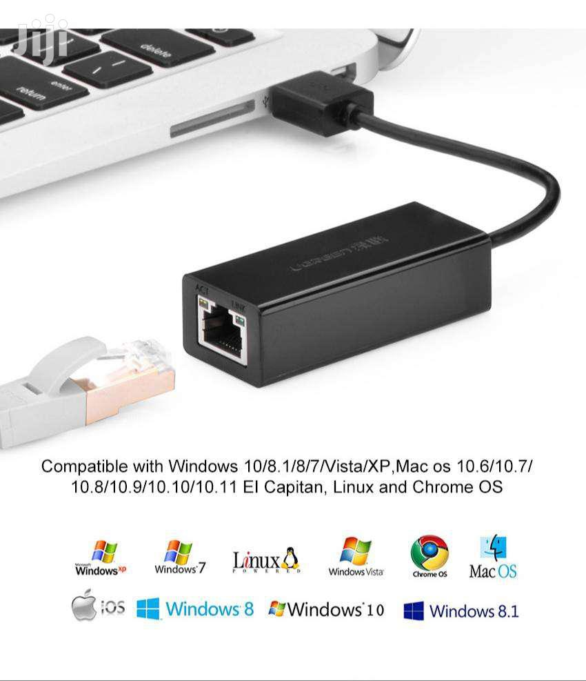 Ugreen USB Ethernet Adapter | Computer Accessories  for sale in Okponglo, Greater Accra, Ghana