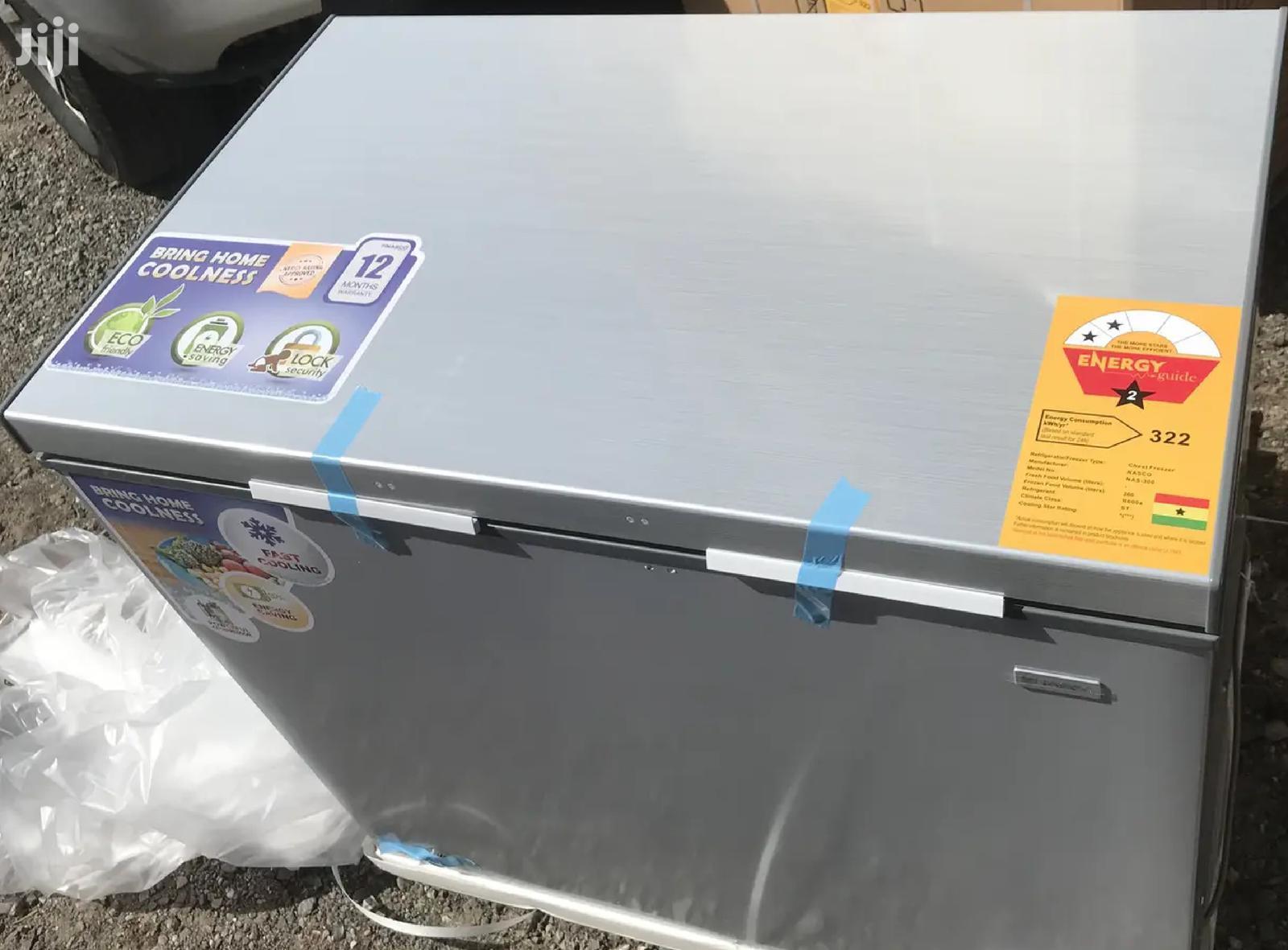 Nasco Chest Freezer 260L