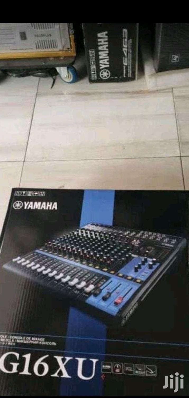 Yamaha Mg16xu Channel Mixer (16- Channel Mixer)