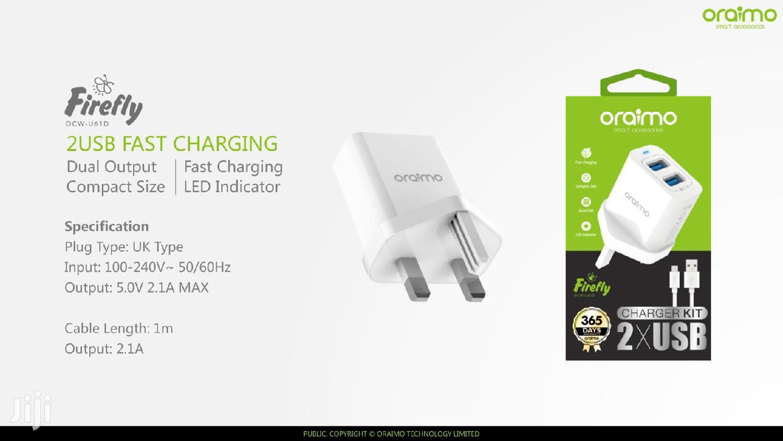 Oraimo OCW-U61D Dual USB Charger