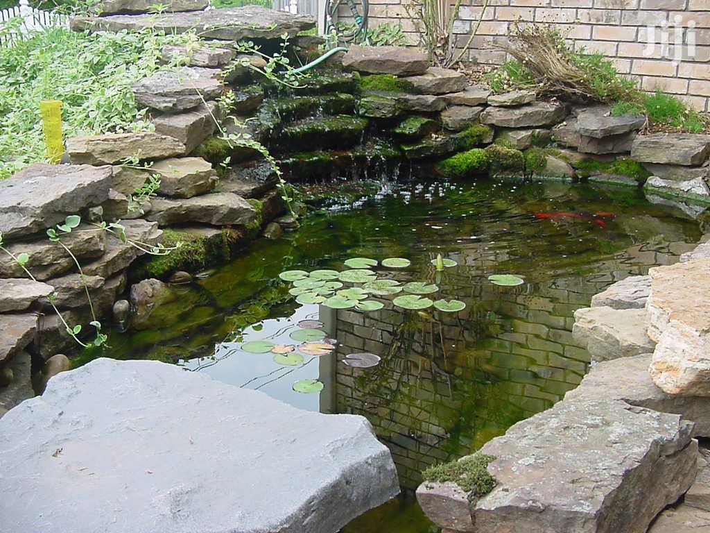 Archive Fish Pond Construction In Osu Building Trades Services Backyard Fish Farming Jiji Com Gh
