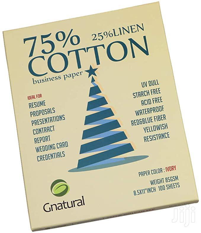 Archive: Cotton Paper