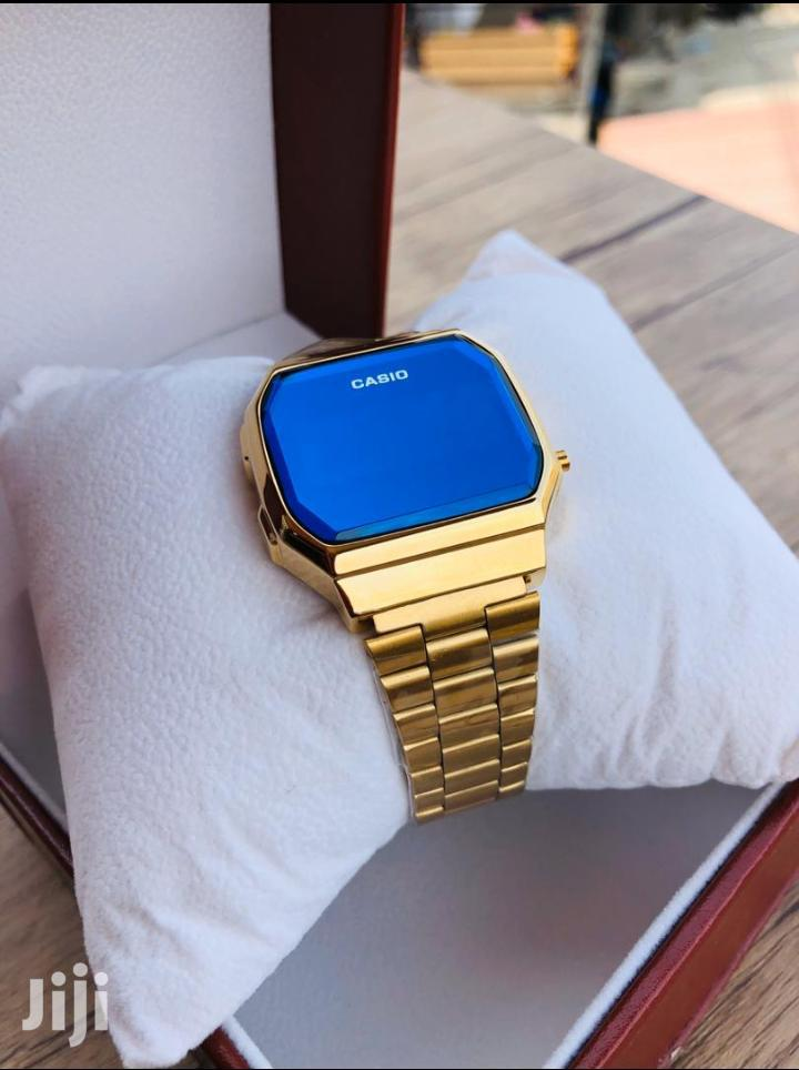 Gold Stainless Casio Digital Watch | Watches for sale in Achimota, Greater Accra, Ghana