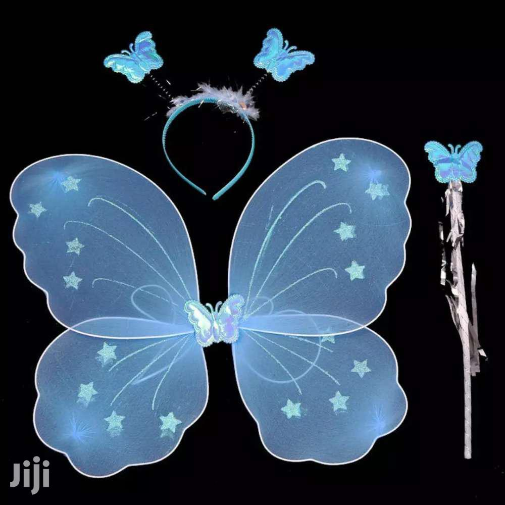 Archive: Butterfly Costume Blue For Girls Birthday