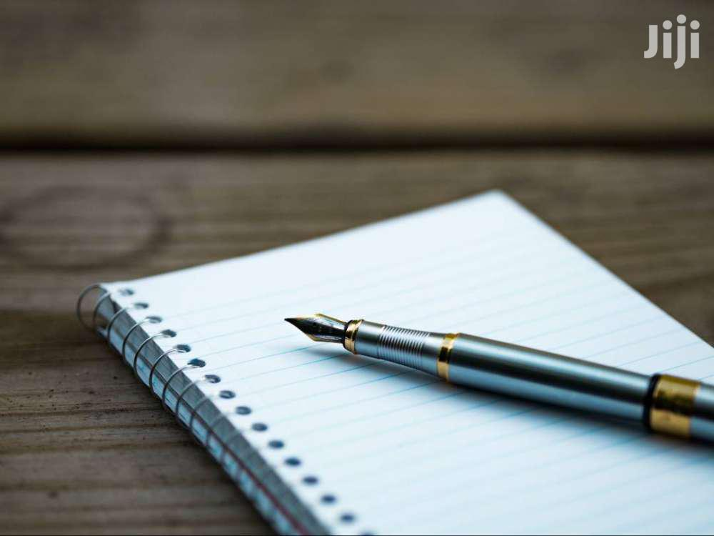 Writing and Editorial Services