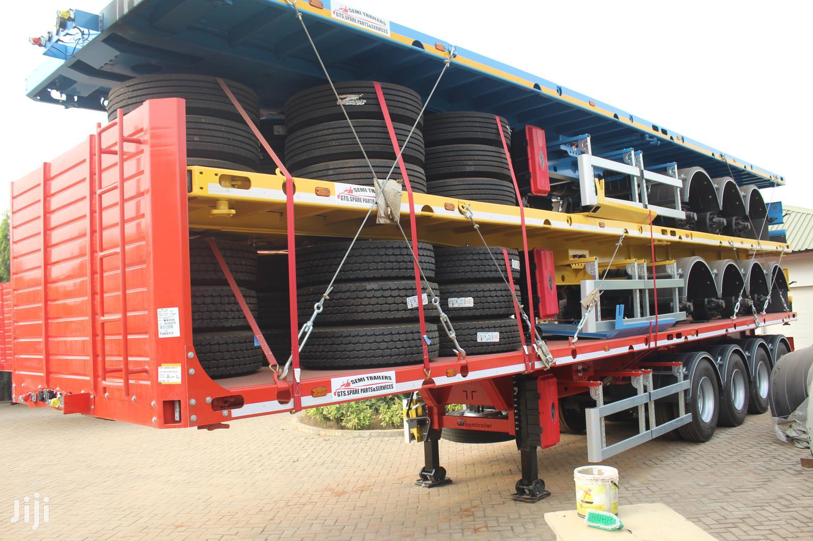 Archive: 4.Axle Flatbed Semi-trailers