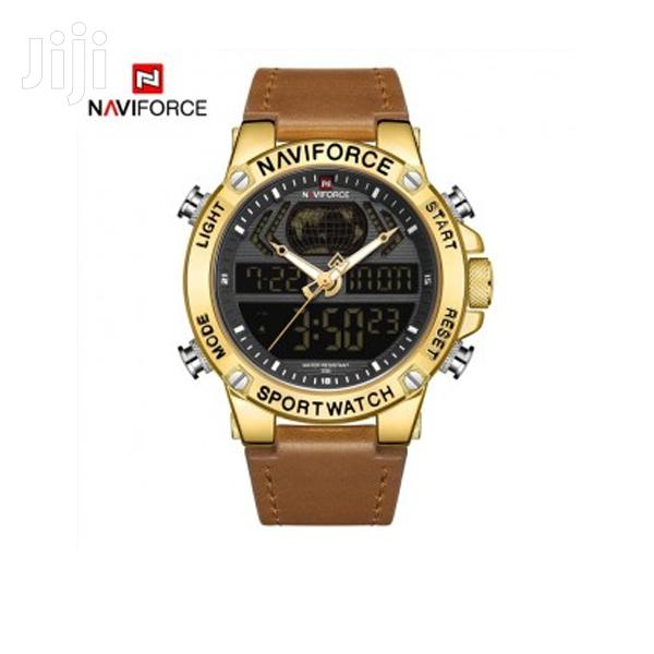 NAVIFORCE 9164 Fashion Sport Dual Time Display Watch | Watches for sale in Achimota, Greater Accra, Ghana