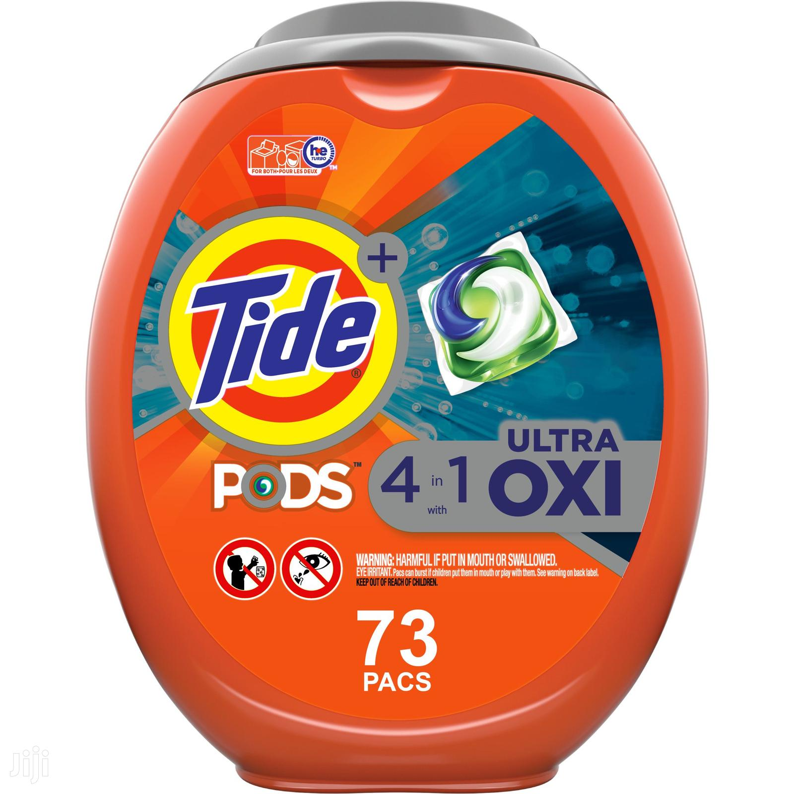 Tide Pods Plus Ultra Oxi, 73 Ct Laundry Detergent Pacs