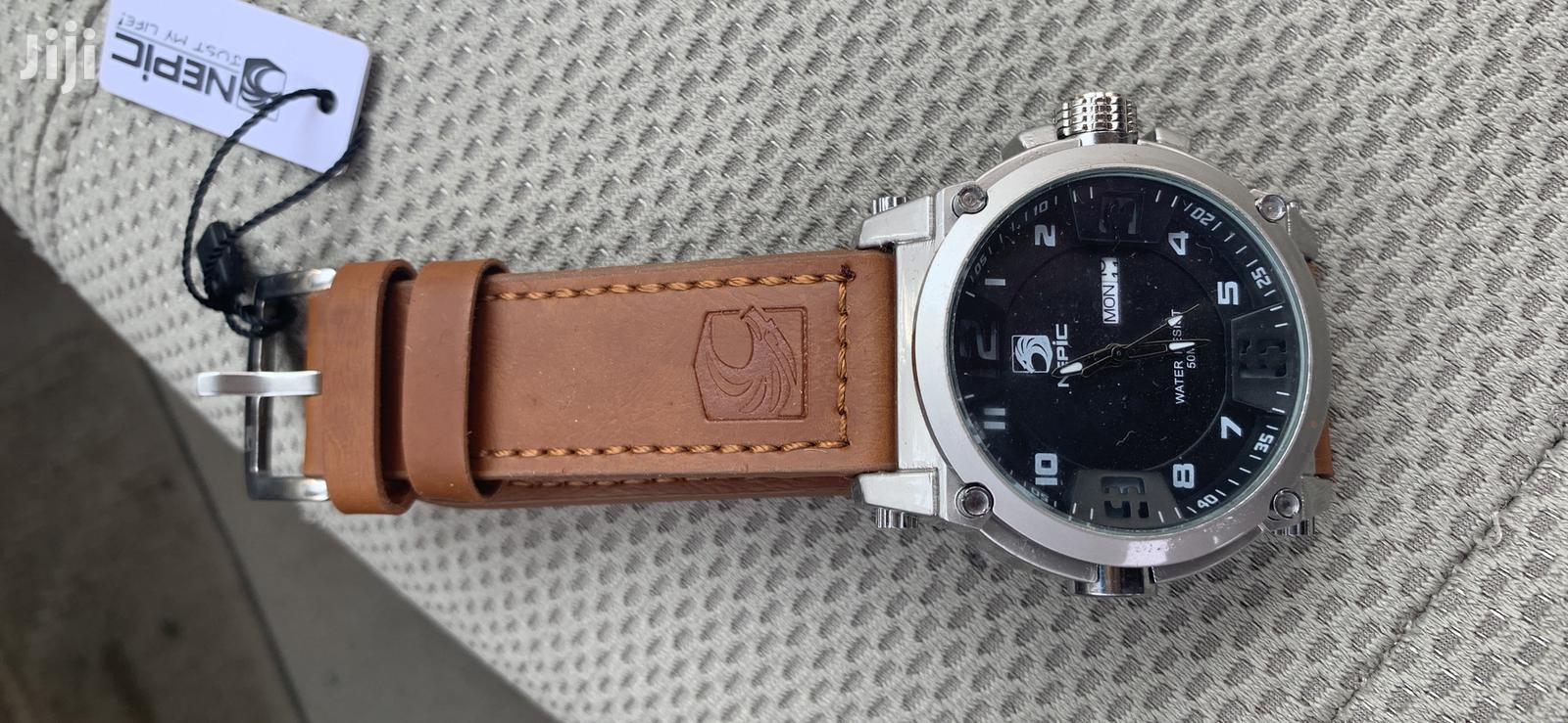 Brand New Watch-Brown