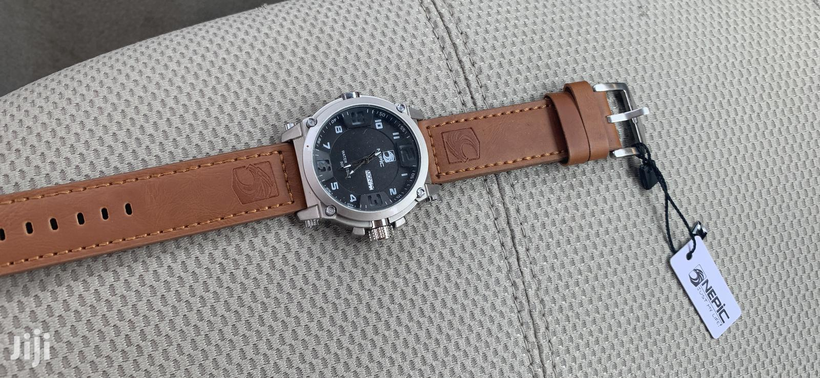 Brand New Watch-Brown | Watches for sale in Airport Residential Area, Greater Accra, Ghana