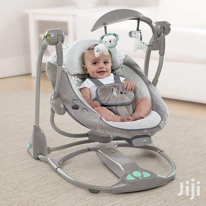 Baby Swing With Music