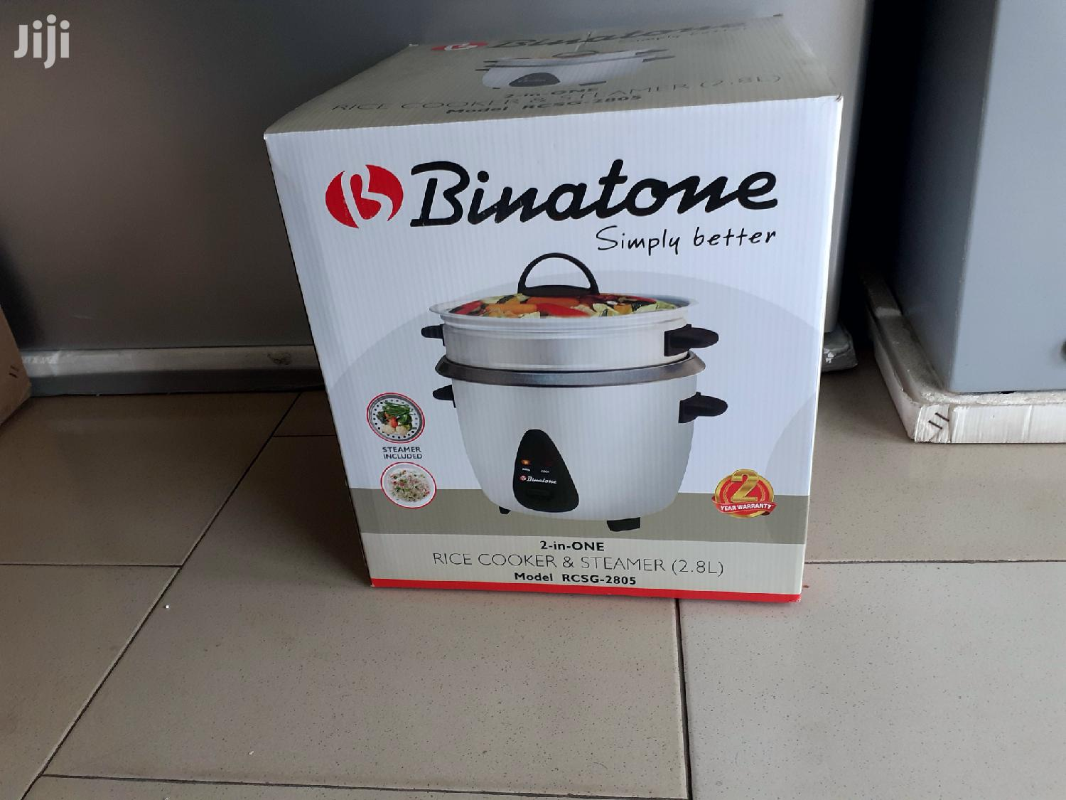 Binatone Rice Cooker With Steamer 2.8litres (Rcsg 2805)