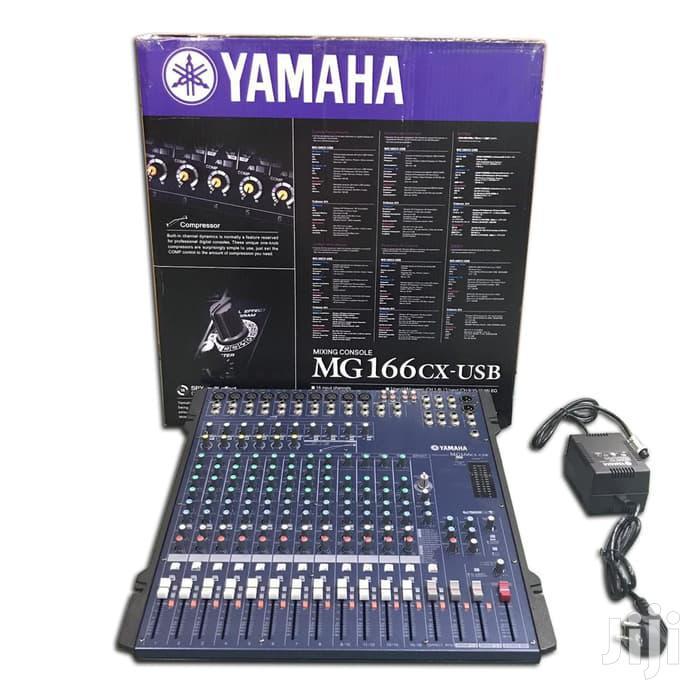 Yamaha Mixer Mg166cx Usb