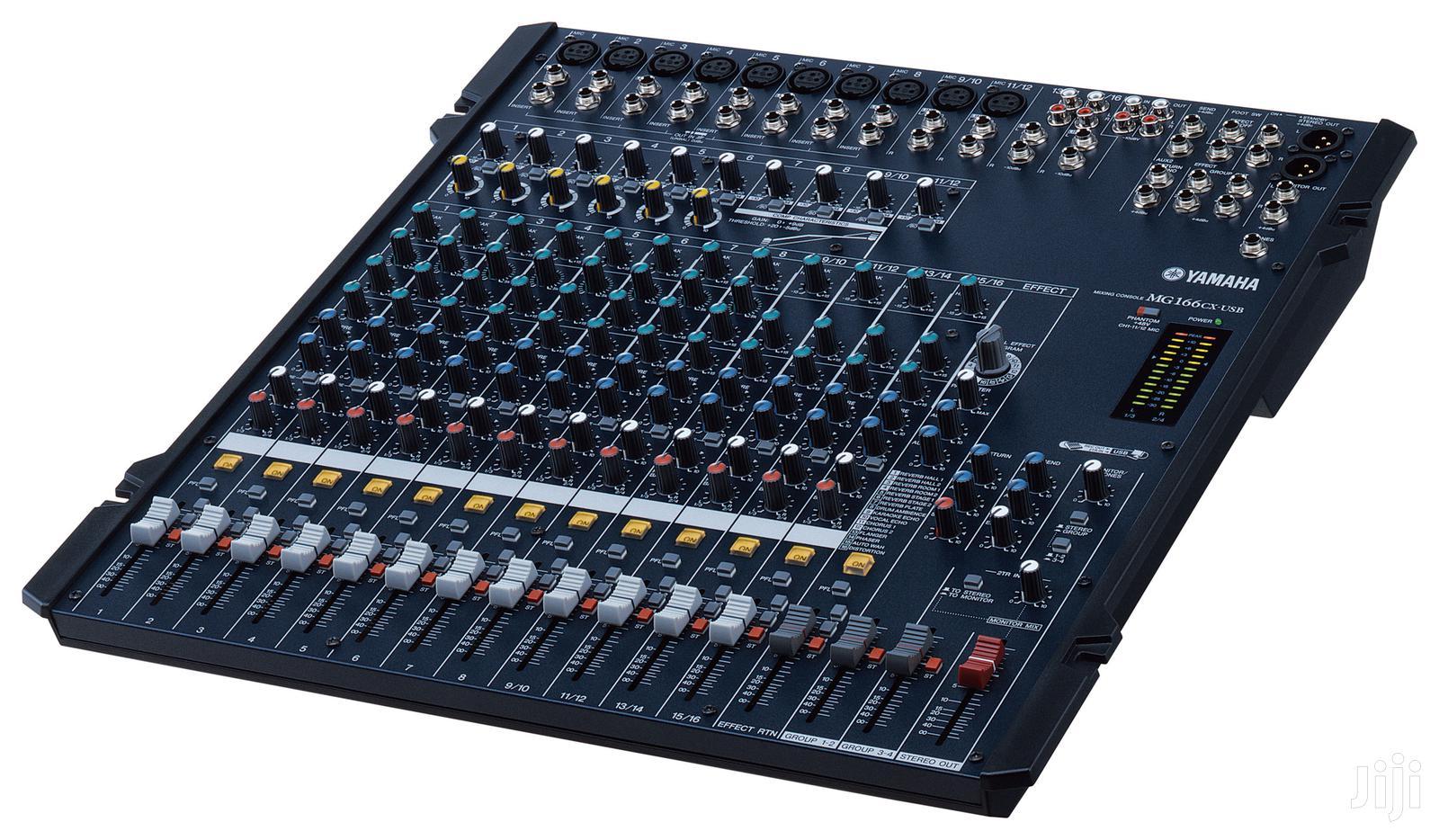 Yamaha Mixer Mg166cx Usb | Audio & Music Equipment for sale in Accra Metropolitan, Greater Accra, Ghana
