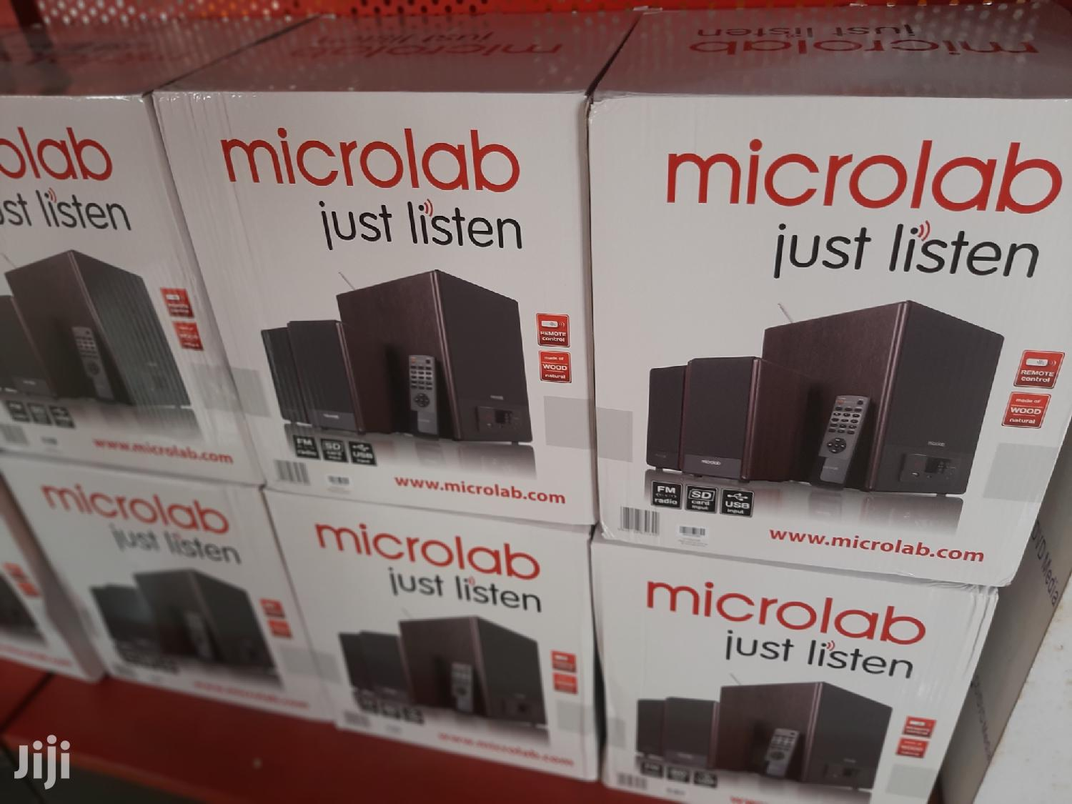 Microlab Fc530u Fm/Sdcard/Usb Speakers | Audio & Music Equipment for sale in Achimota, Greater Accra, Ghana