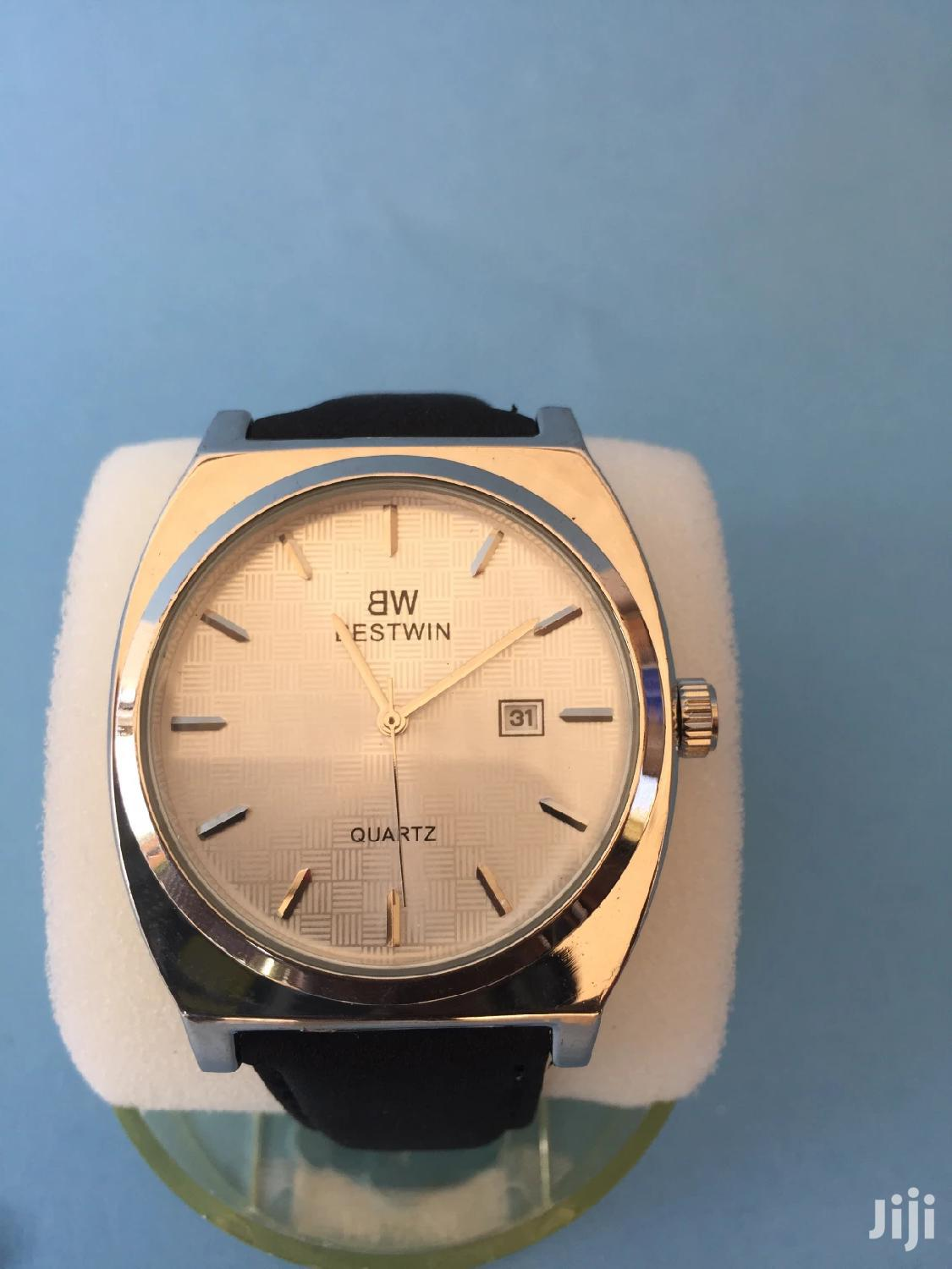 Black Leather Watch | Watches for sale in Accra Metropolitan, Greater Accra, Ghana