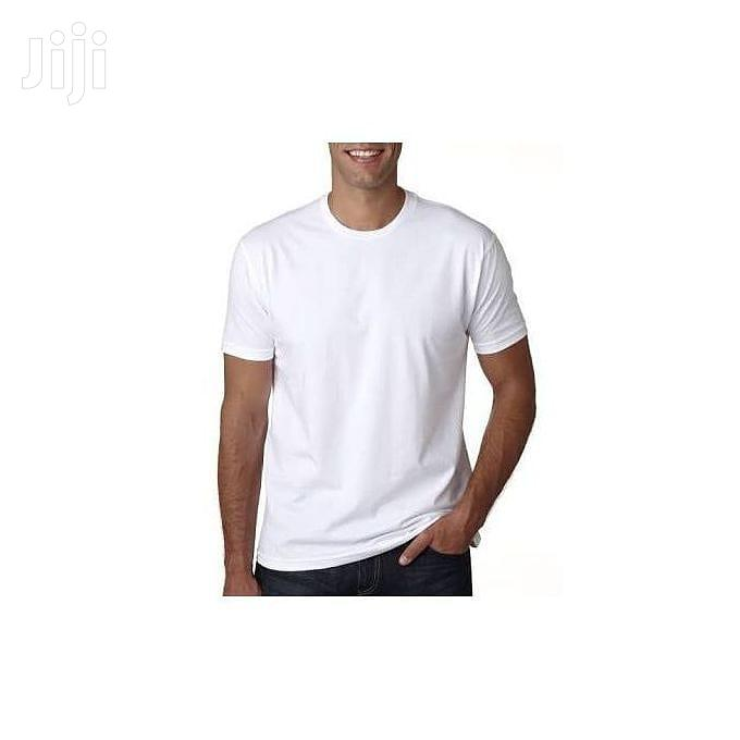 Plain White T-shirt | Clothing for sale in Accra Metropolitan, Greater Accra, Ghana