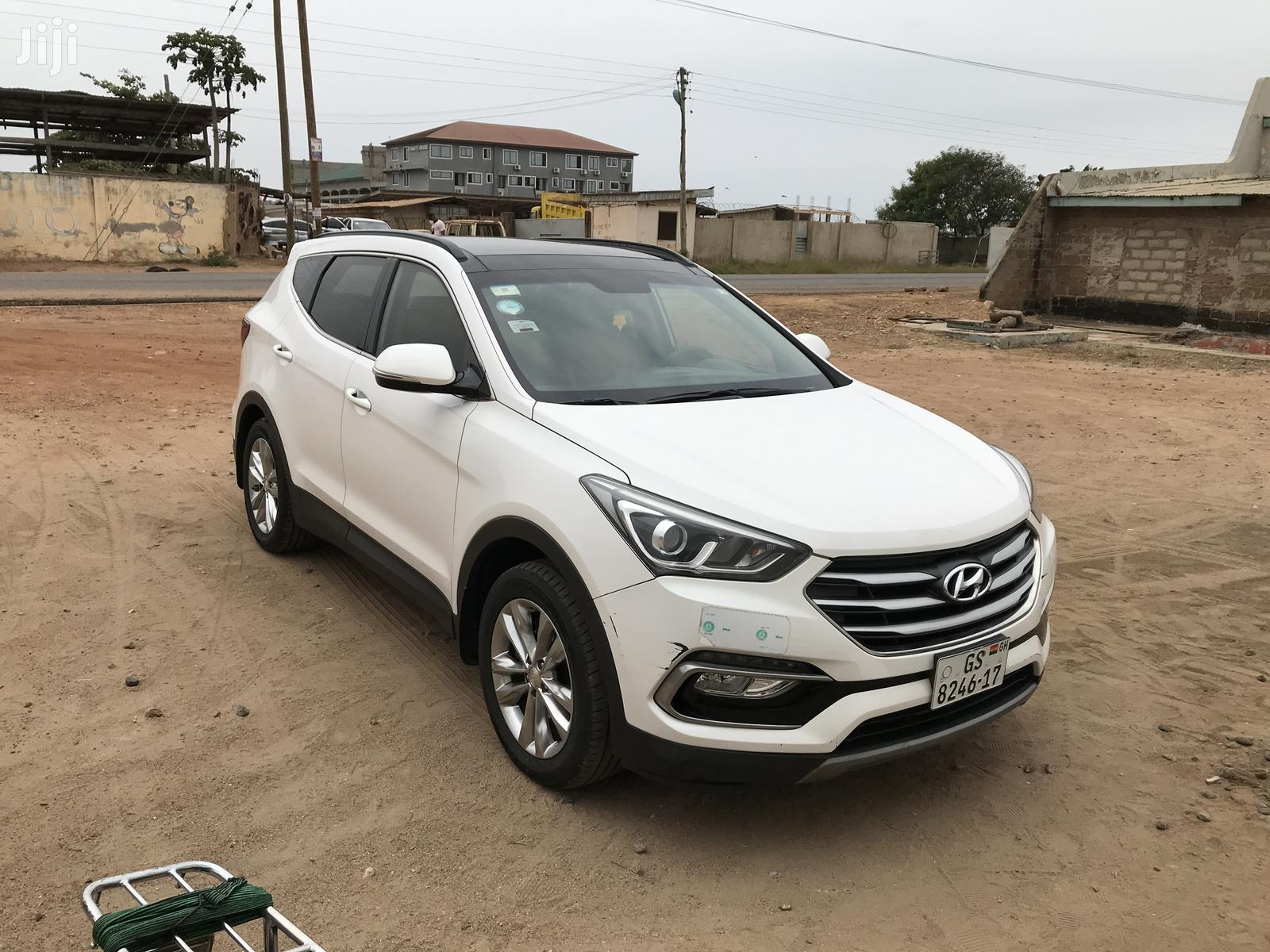 Hyundai Santa Fe 2017 White | Cars for sale in East Legon, Greater Accra, Ghana