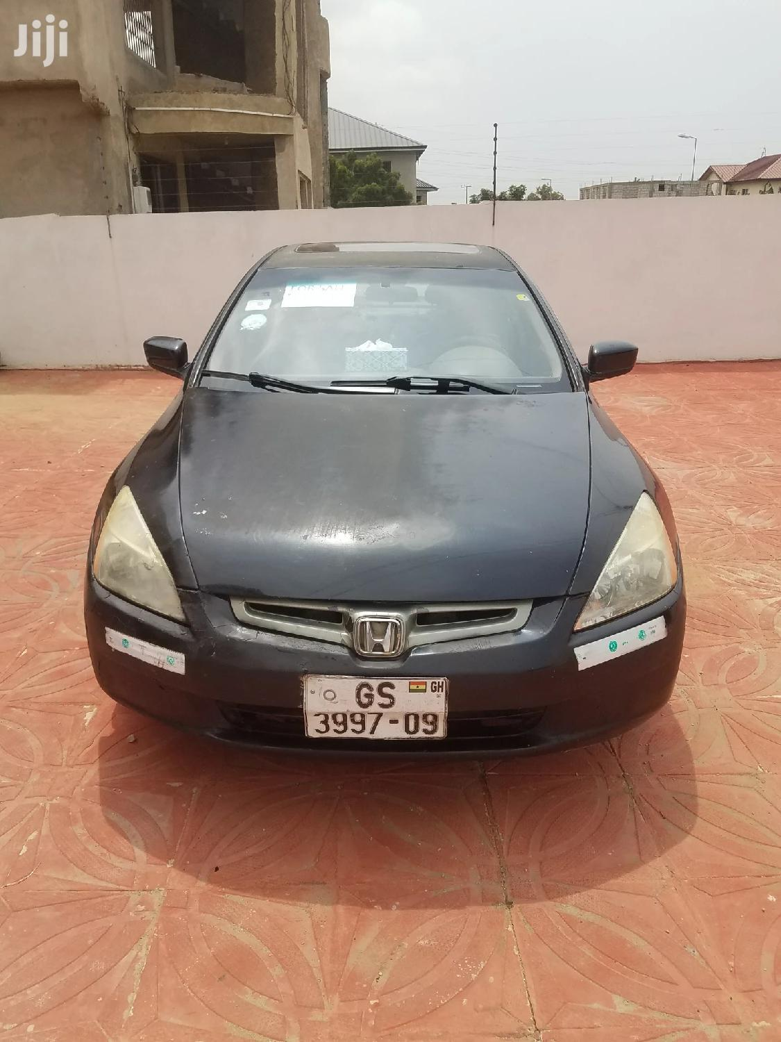 Honda Accord 2005 Automatic Black | Cars for sale in Ashaiman Municipal, Greater Accra, Ghana