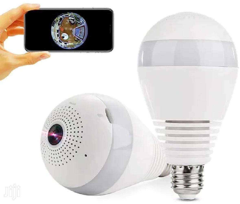 BULB IP CAMERA 360 Degree Wifi 1080P Security CCTV Hidden