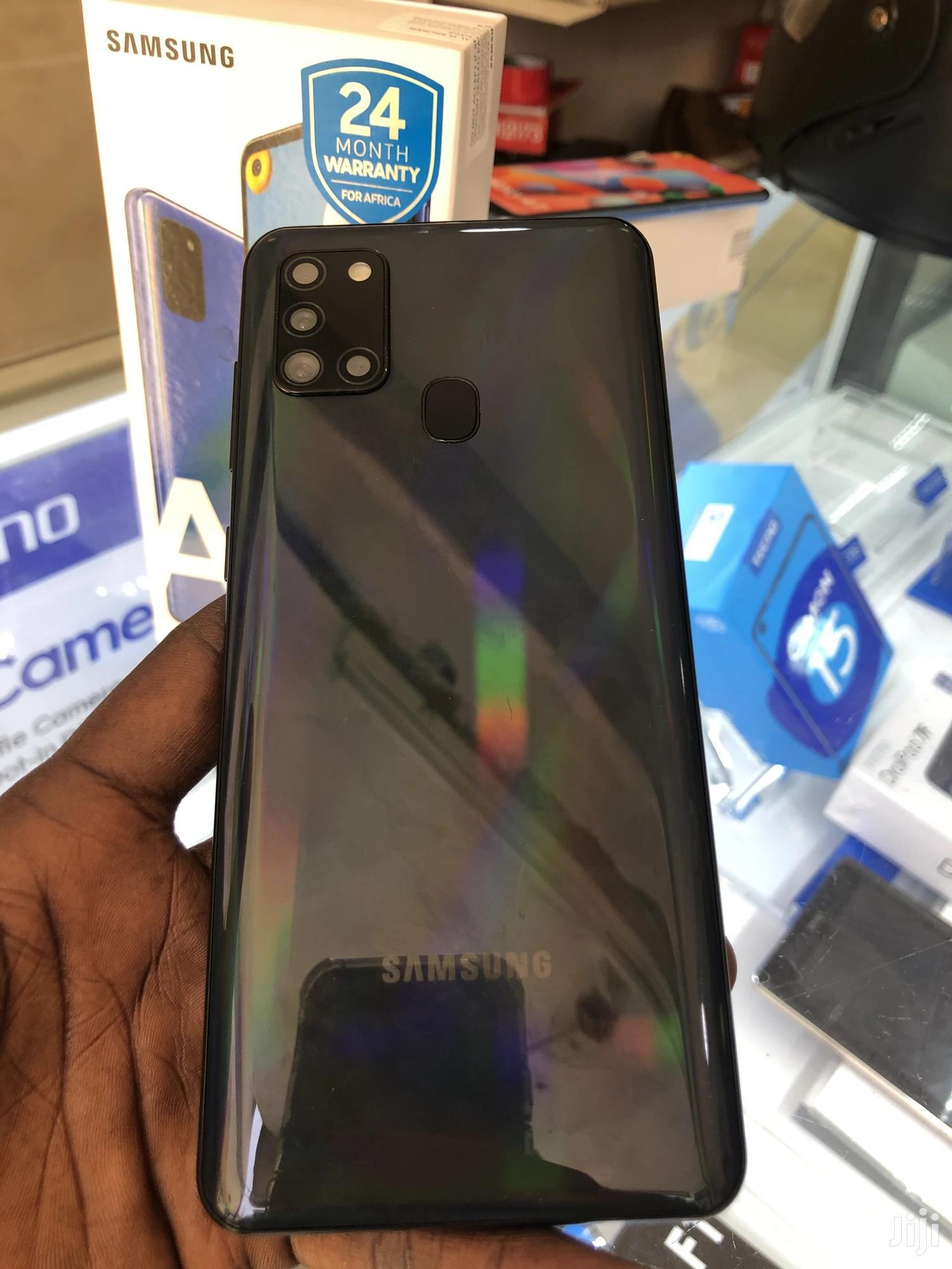 New Samsung Galaxy A21s 64 GB Black | Mobile Phones for sale in Adabraka, Greater Accra, Ghana