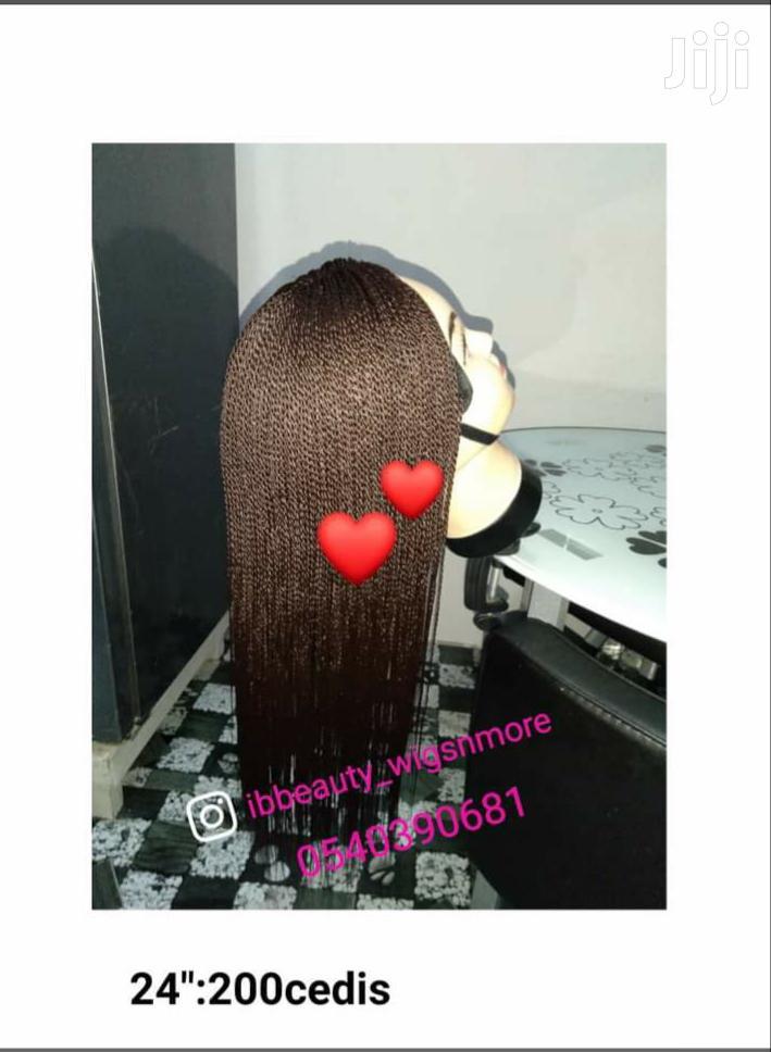 Micro Twist Braid Wig Cap Hair