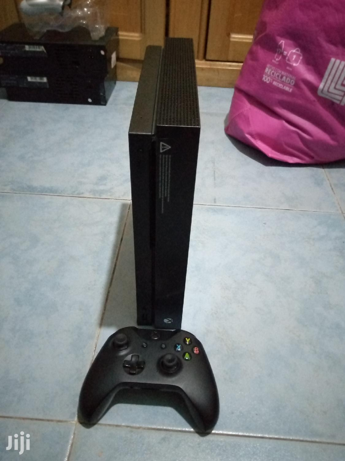 Xbox One X 1tb With 9 Games Loaded   Video Game Consoles for sale in East Legon (Okponglo), Greater Accra, Ghana