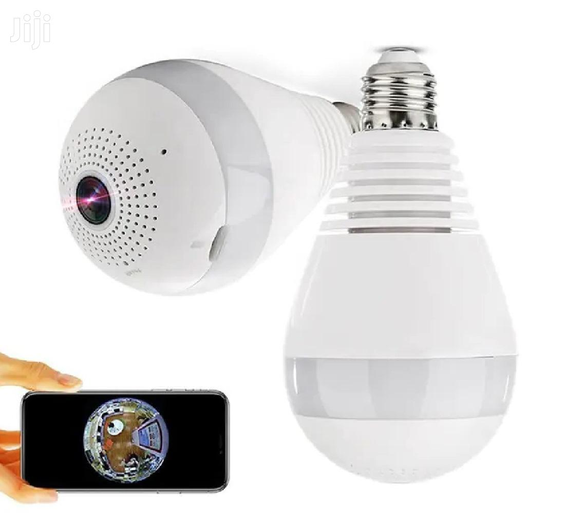 Bulb IP Camera 360 Degree Wifi 1080P Security CCTV
