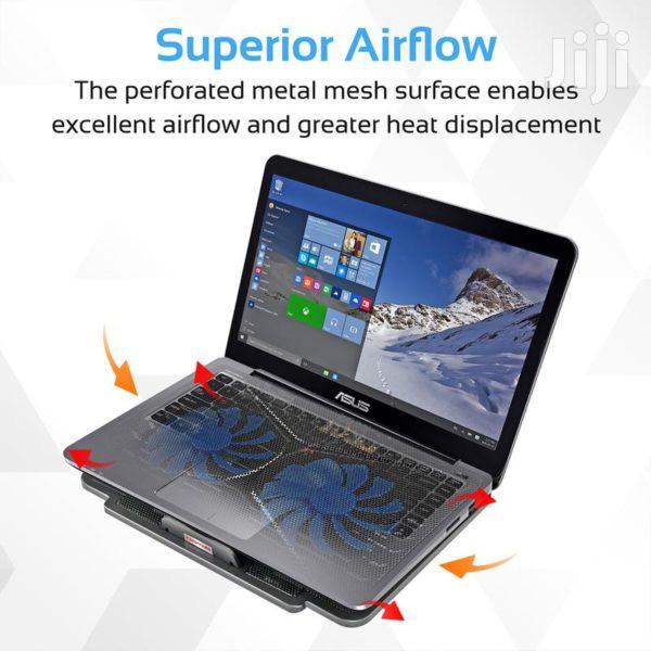 Promate Airbase-1 Laptop Cooling Pad+ Silent Fan Technology | Computer Accessories  for sale in Accra Metropolitan, Greater Accra, Ghana