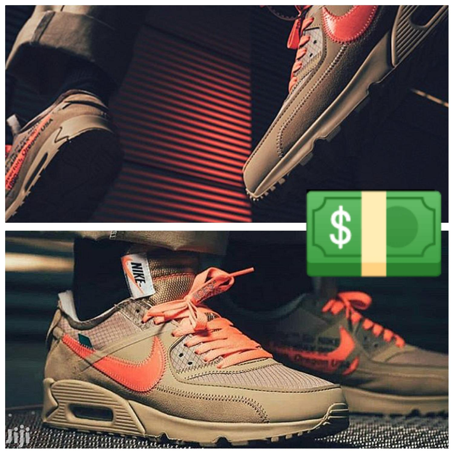 High Quality Nike Air Max 90 Off White | Shoes for sale in Accra Metropolitan, Greater Accra, Ghana
