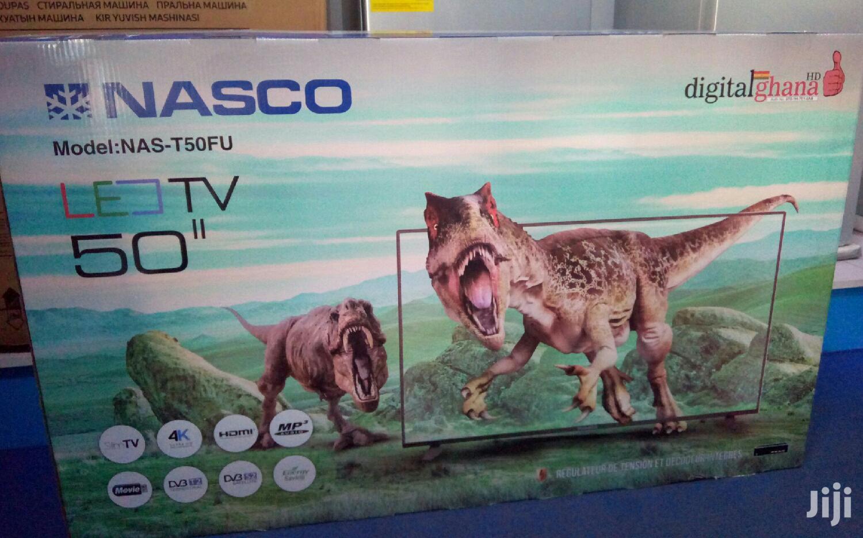 "4k UHD 50"" Nasco TV"
