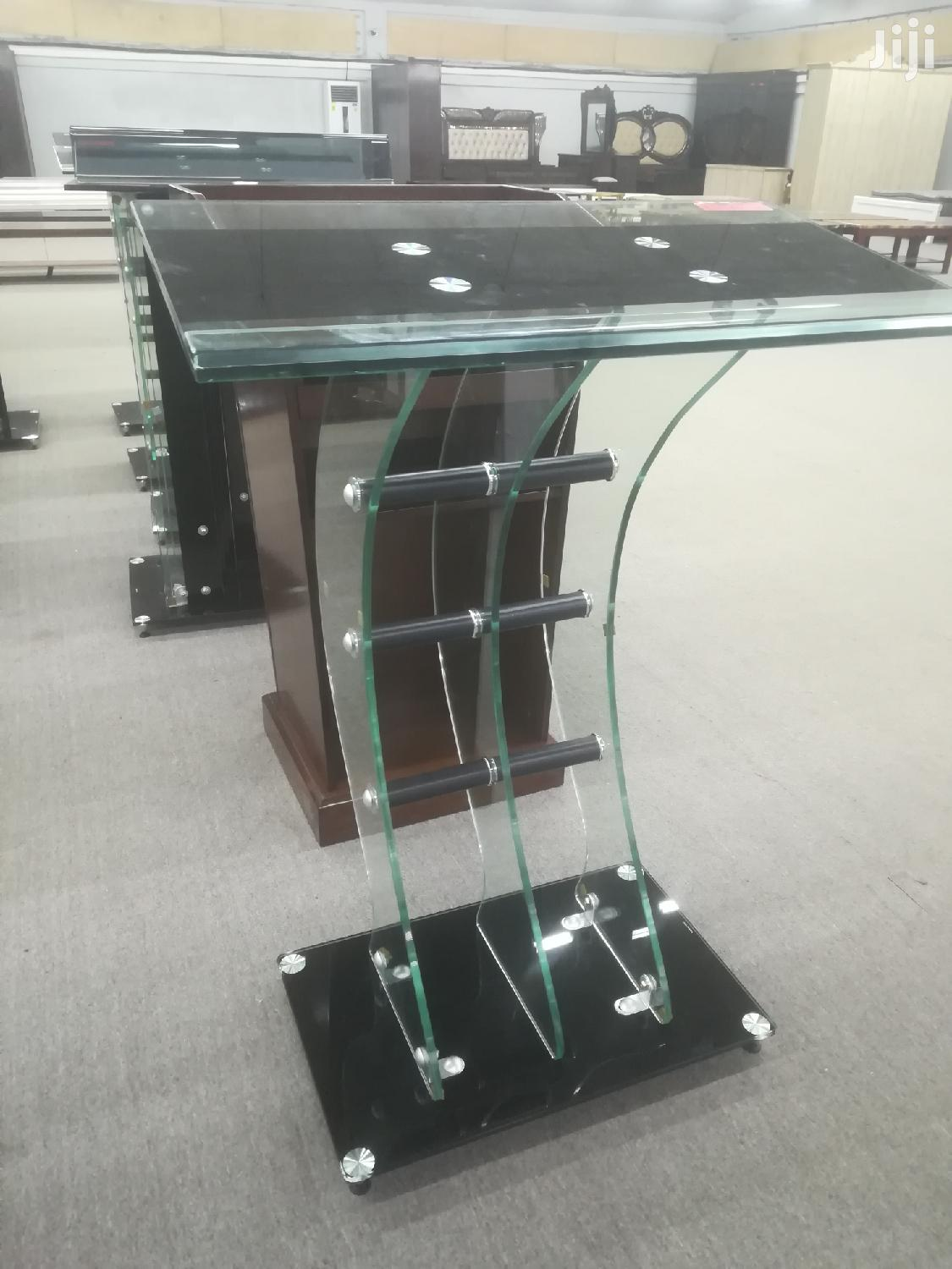 Tempered Glass Pulpit | Furniture for sale in Tema Metropolitan, Greater Accra, Ghana