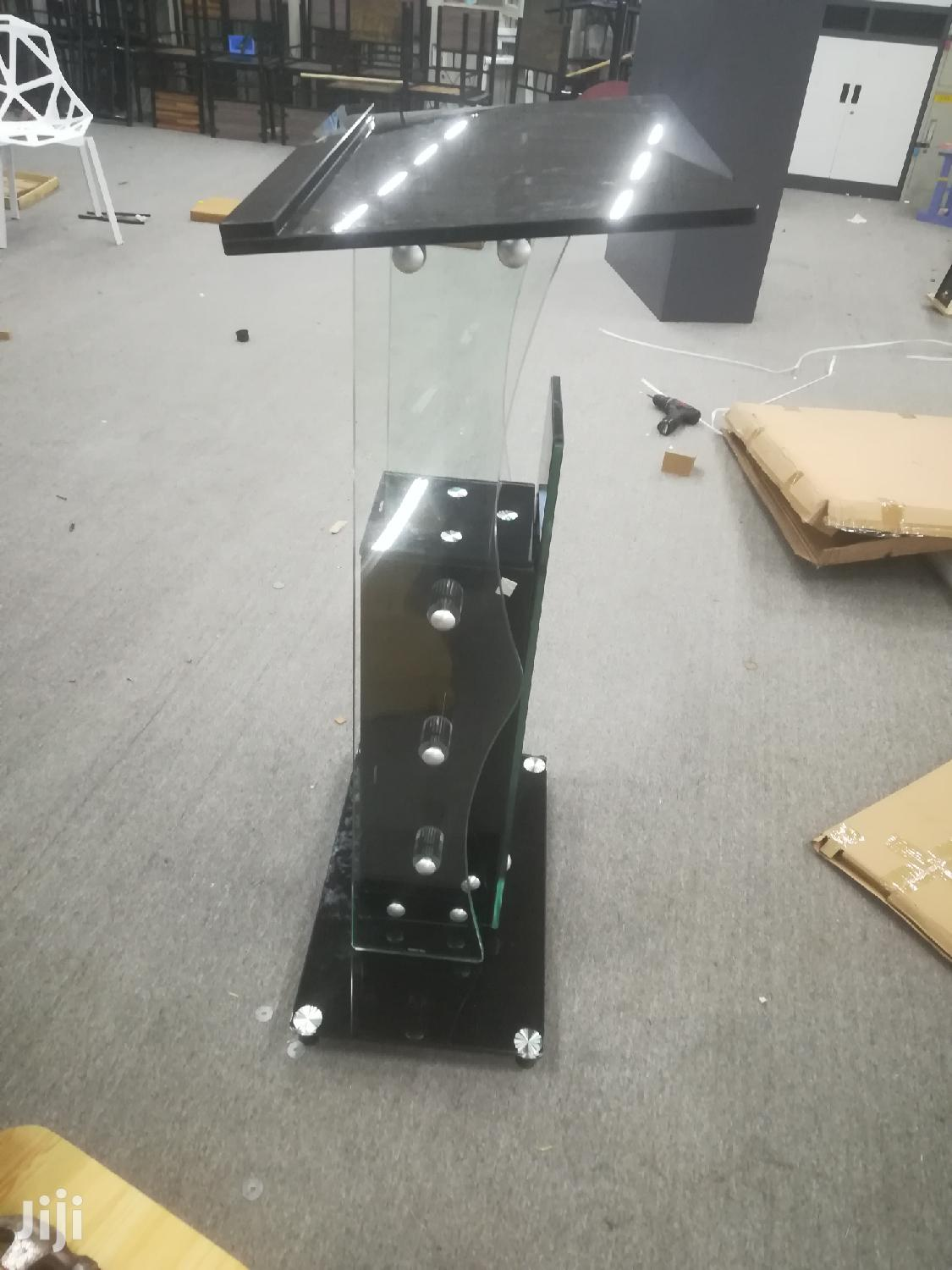 Quality Tempered Glass Pulpit   Furniture for sale in Kwashieman, Greater Accra, Ghana