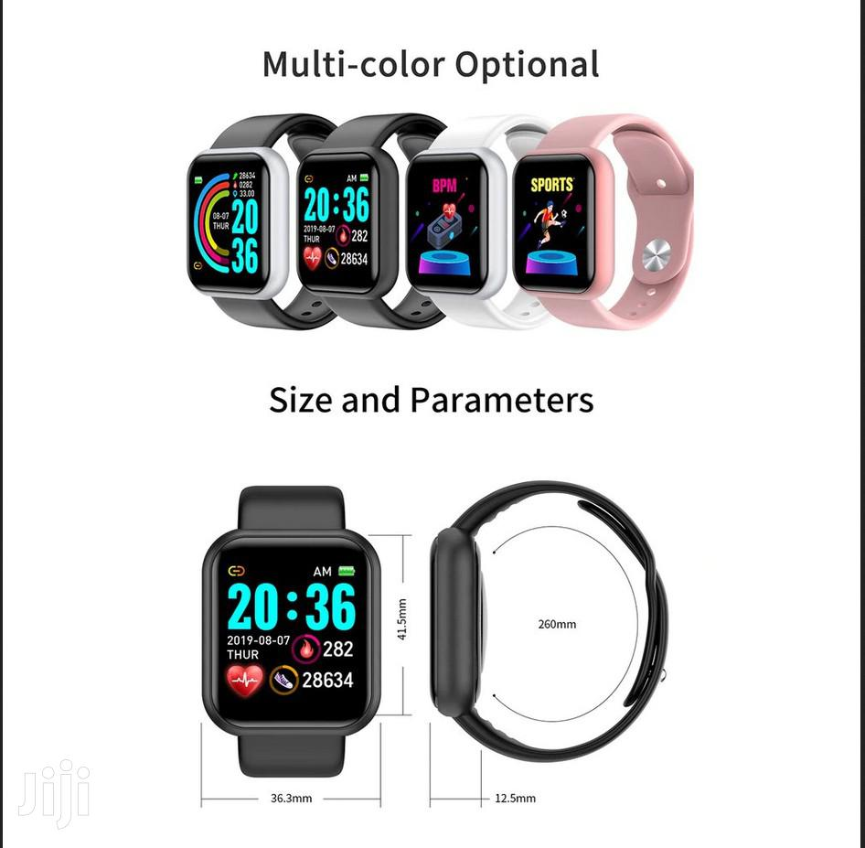 Y68 Color Screen Smart Bracelet Real-time Sleep Monitoring S | Smart Watches & Trackers for sale in Achimota, Greater Accra, Ghana
