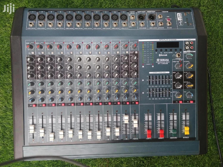 Yamaha Professional Mixer (Mk1200usb)