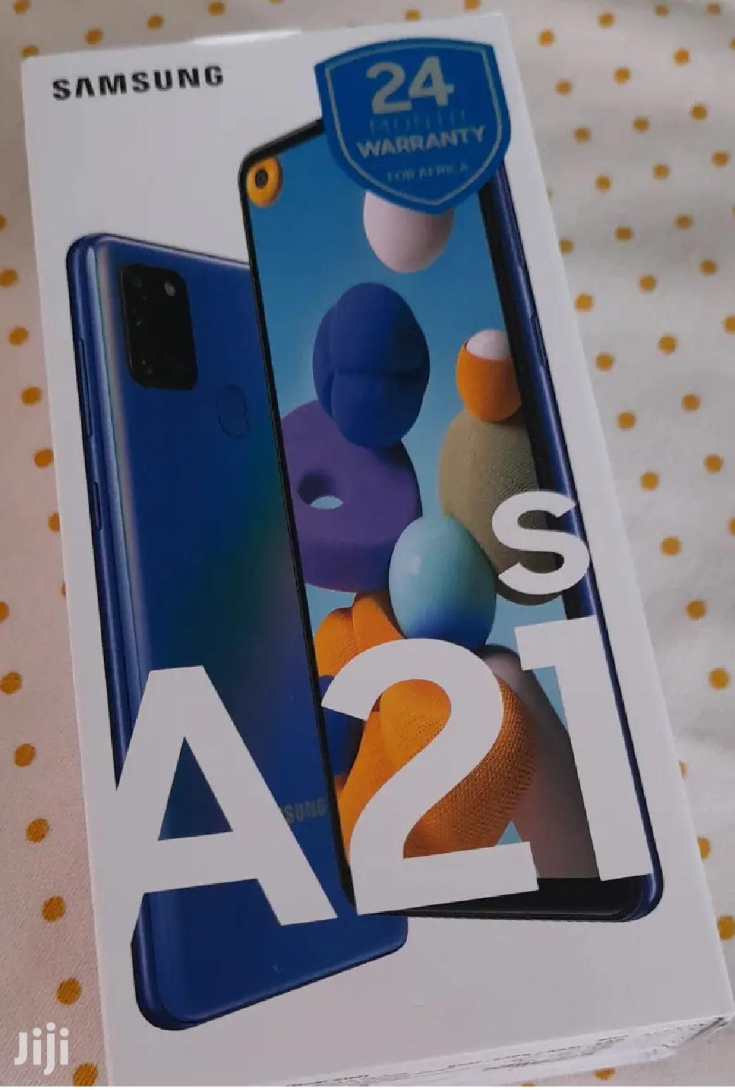 New Samsung Galaxy A21s 32 GB Blue