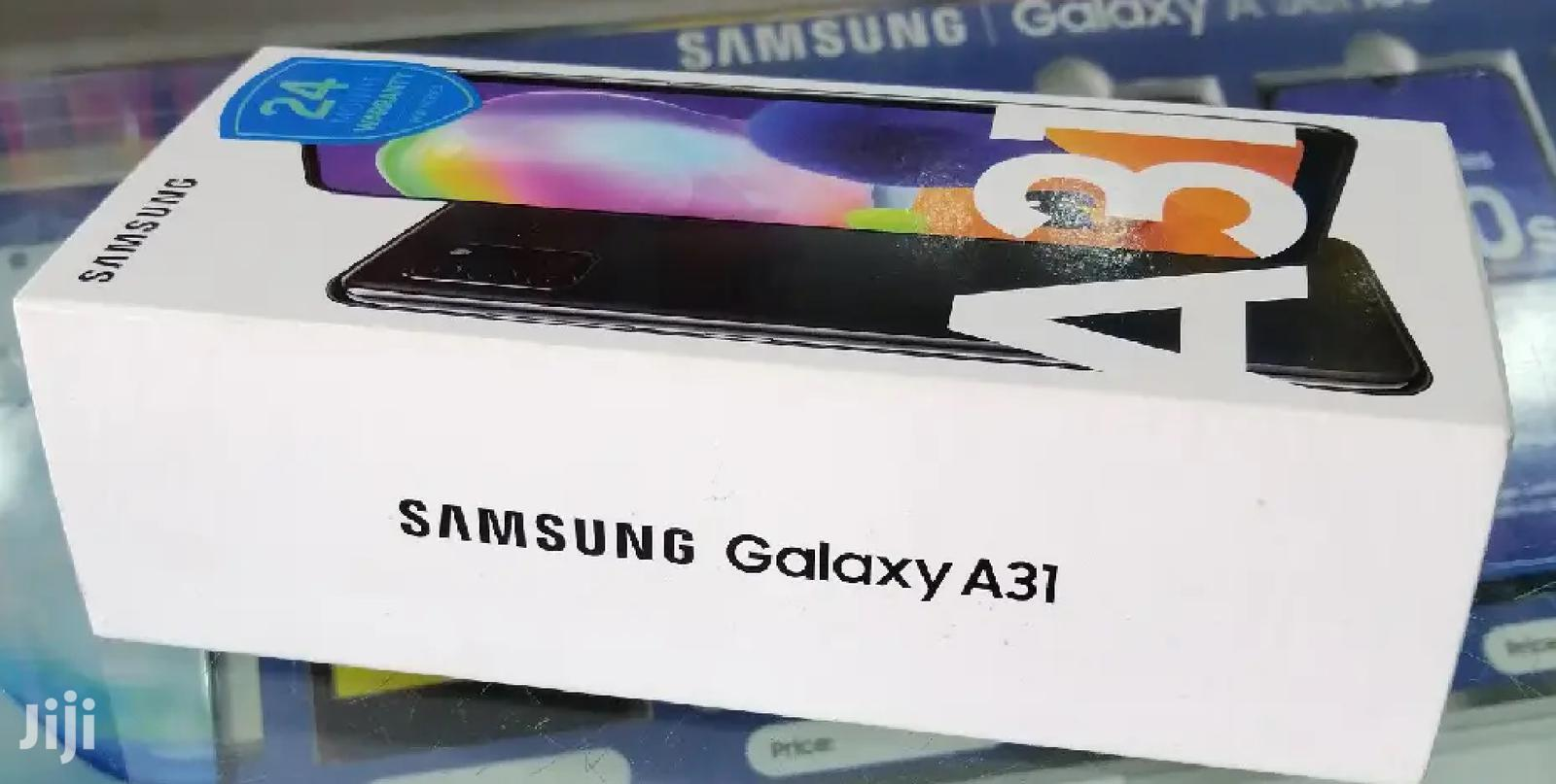 New Samsung Galaxy A31 128 GB Blue | Mobile Phones for sale in Dzorwulu, Greater Accra, Ghana