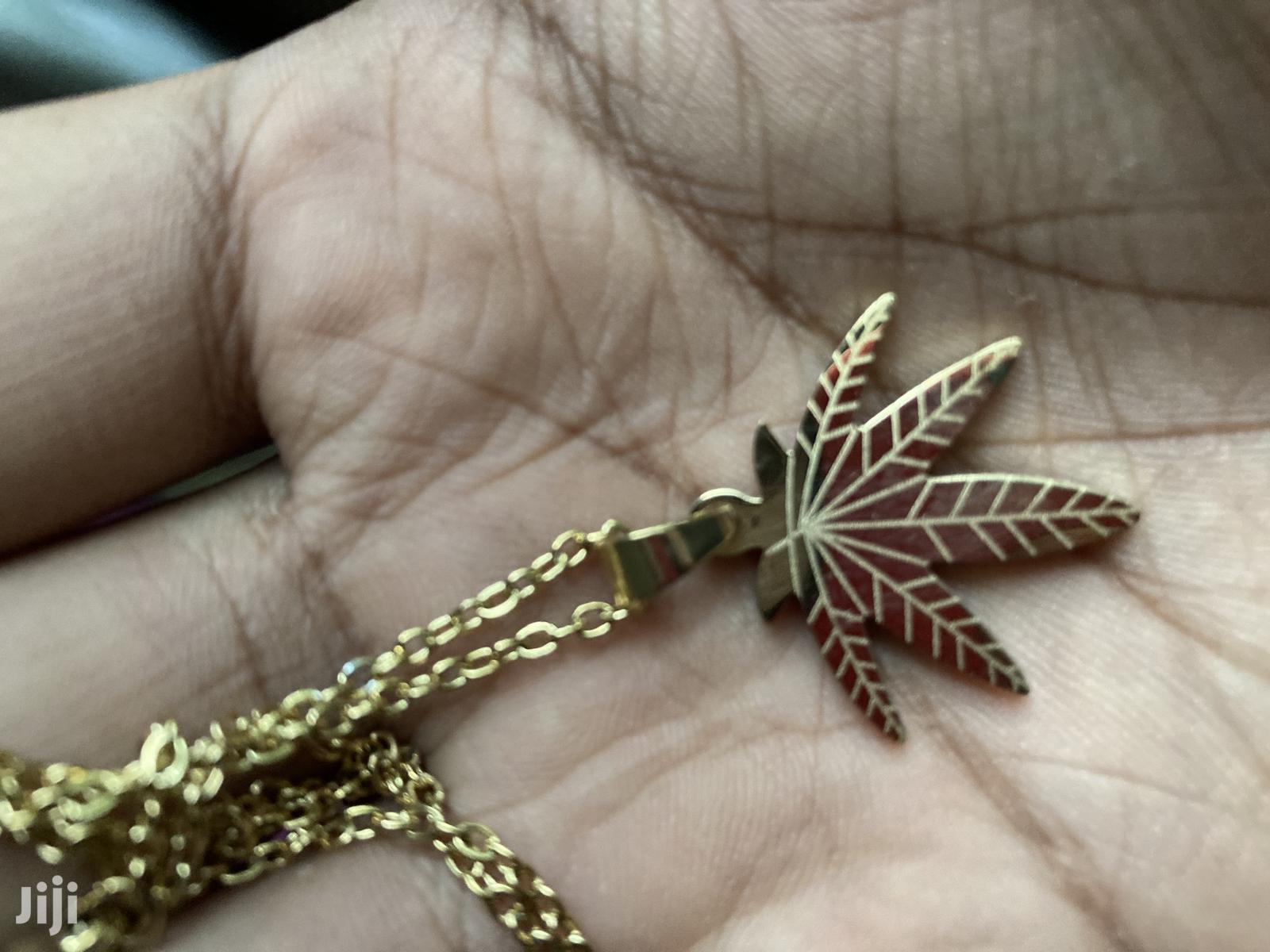 Weed Chain Necklace
