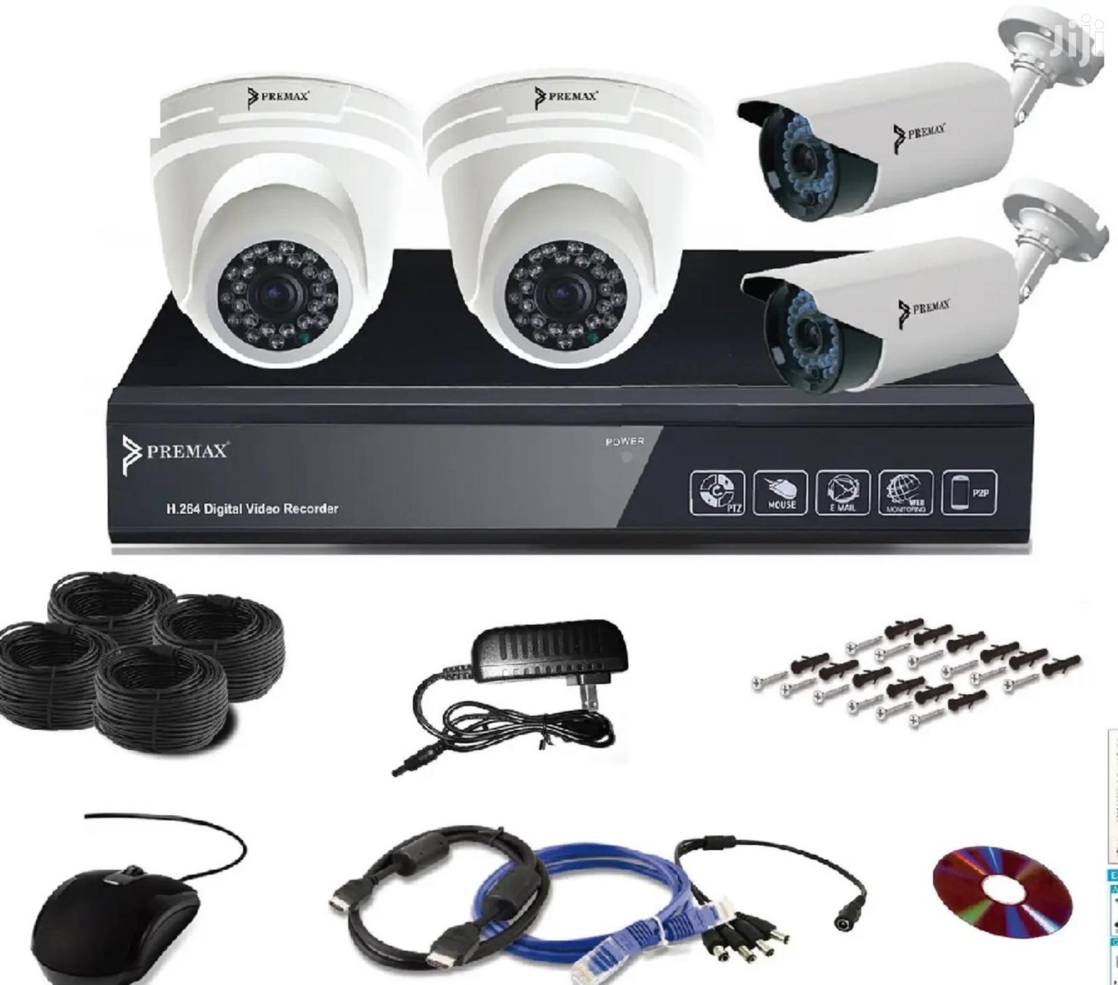 5 MP CCTV Kits 4 Channel