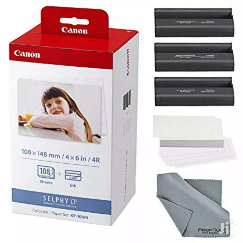 """4/6IN CANON PAPER +INK FOR SELPHY CP1000 PHOTO PRINTER"""""""