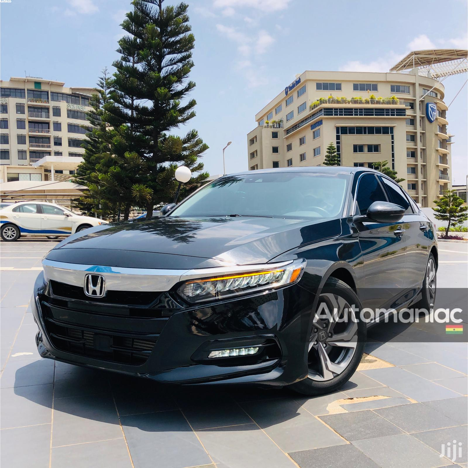 Honda Accord 2018 Touring 2.0T Black | Cars for sale in Airport Residential Area, Greater Accra, Ghana