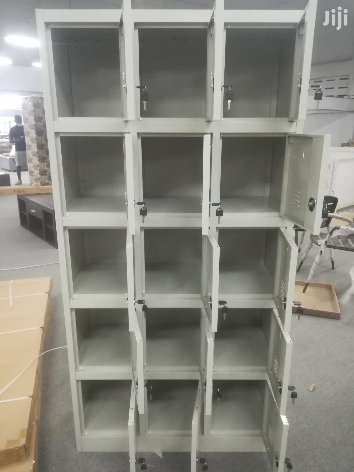 15 Lockers Office Cabinets   Furniture for sale in Kwashieman, Greater Accra, Ghana