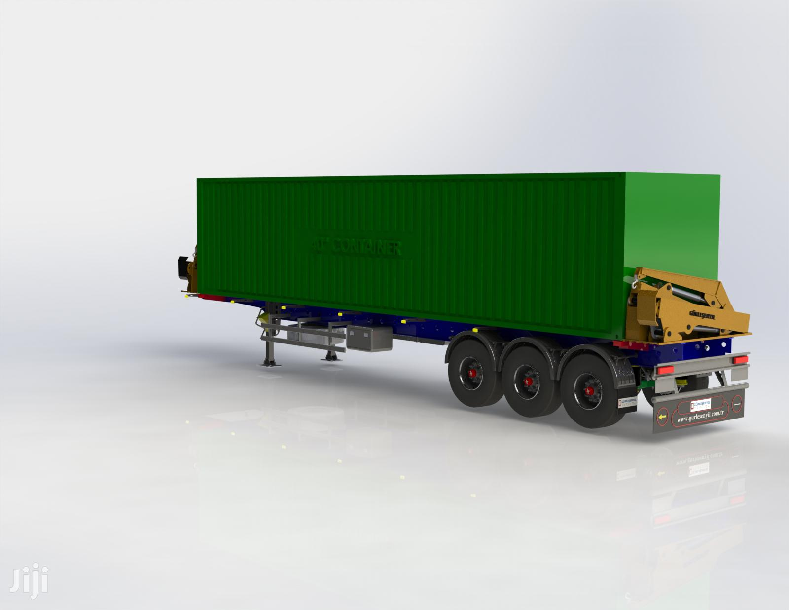 Archive: Sidelifter Semi Trailer (Sideloader Container)