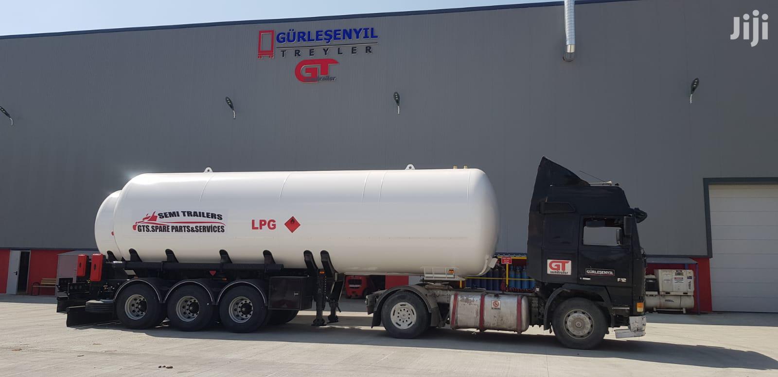 Archive: LPG Tanker Semi Trailer Sales