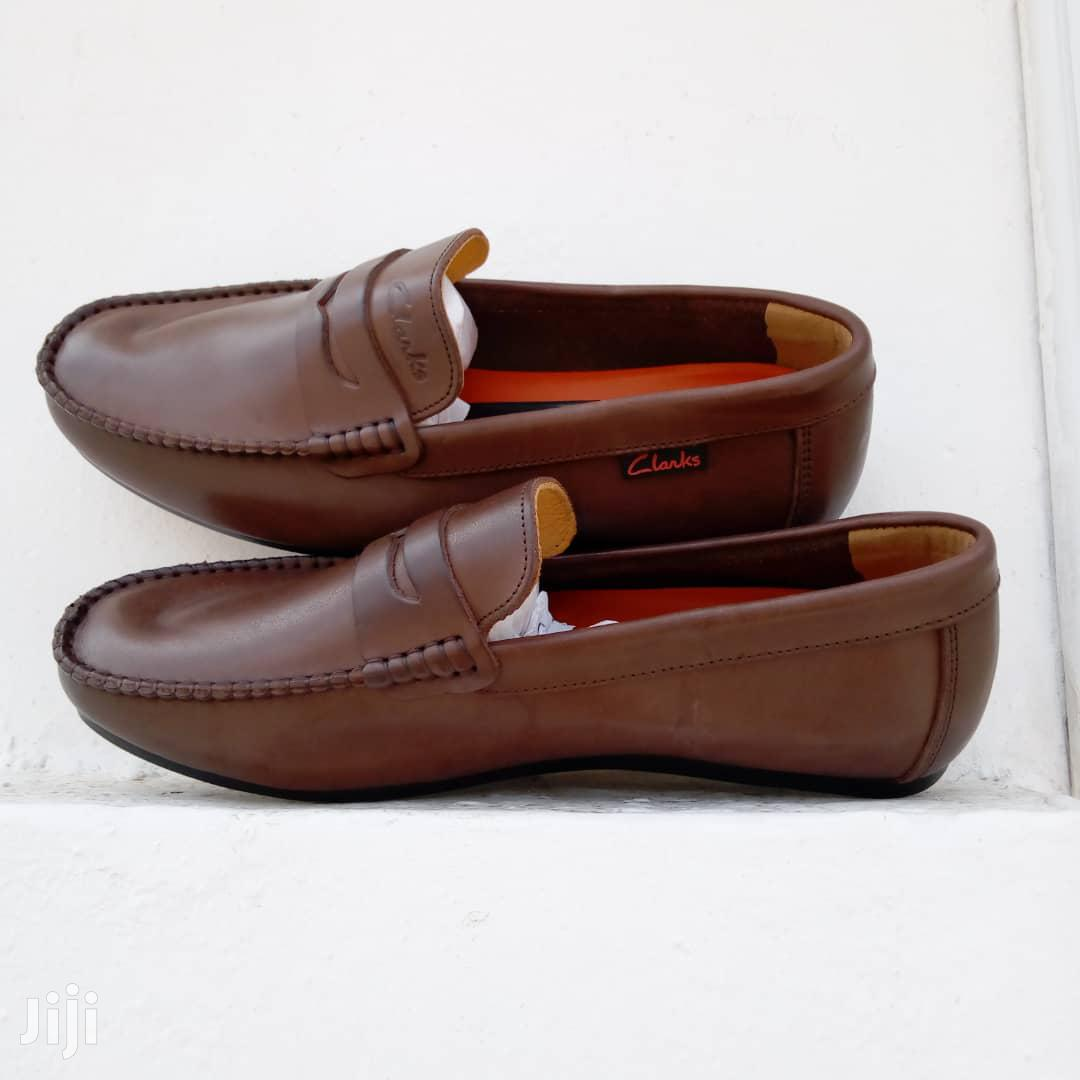 Clarks Brown Leather Loafers | Shoes for sale in Ga East Municipal, Greater Accra, Ghana